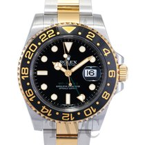 ロレックス (Rolex) GMT-Master II Black/18k gold Ø40mm - 116713 LN