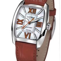 Locman History 488N00MWF5N0PSN Pearl Brown Quartz Ladies