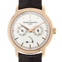 Vacheron Constantin Traditionnelle 18k Rose Gold White...