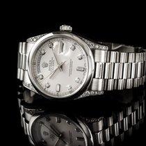 Rolex Day Date Platin Mit Brilliantbesatz Und Bril