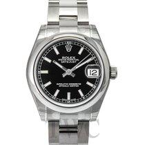 ロレックス (Rolex) Datejust Midsize Black/Steel Ø31mm - 178240