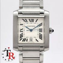 Cartier Tank Francaise Mens  Box+Papers