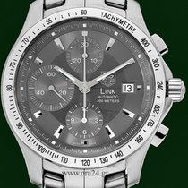 TAG Heuer Link 42mm Automatic Chrono Stainless Steel Box&P...