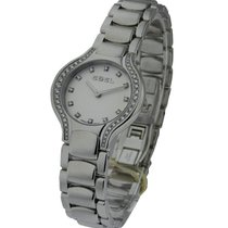 Ebel 9003N18/691050 Beluga Mini in Steel with Diamond Bezel -...