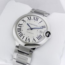 Cartier Ballon Bleu LARGE Automatic Stainless Steel w69012z4
