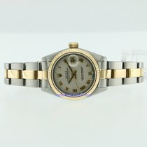 Rolex Lady-Datejust 26 mm  acciaio e oro gold 18 kt ref. 69173