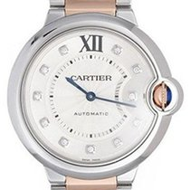 Cartier WE902031 Ballon Bleu DIA Women 18kt Rose Gold Two-Tone...