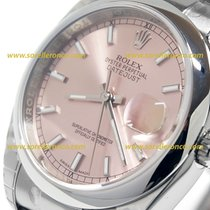 Rolex DATEJUST LADY Pink Dial 36mm Oyster bracelet  116200