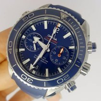 Omega Seamaster Planet Ocean Chronograph Liquid Metal