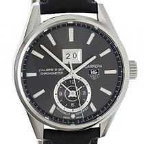 TAG Heuer Carrera Calibre 8 GMT Stahl Automatik 41mm
