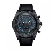Breitling Bentley Automatic Steel & Carbon Black MOP Dial...