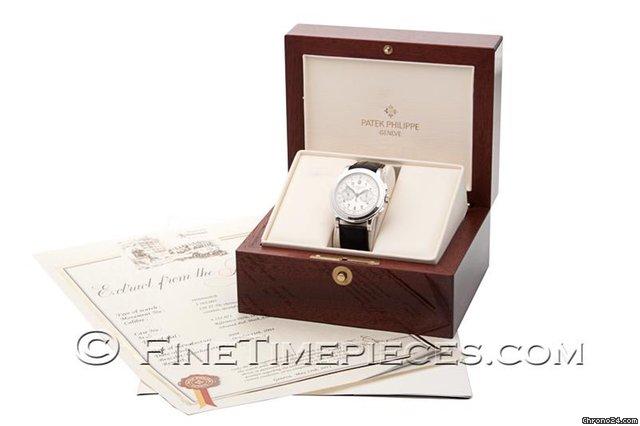 patek philippe grande taille chronograph wei gold service 2015 f r kaufen von einem. Black Bedroom Furniture Sets. Home Design Ideas