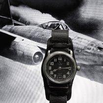 HELVETIA 2. WK Military Reichsluftwaffe Flieger Dienstuhr 1936