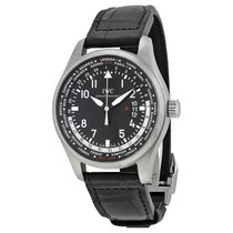 IWC Men's IW326201 Pilot Worldtimer Watch