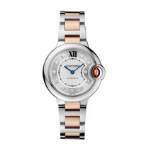 Cartier Ballon Bleu Automatic Ladies Watch Ref WE902044
