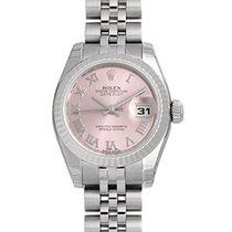 Rolex Datejust 26mm Pink Roman Dial Jubilee Bracelet 18k