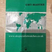 Rolex 1966 GMT-MASTER 1675 BOOKLET - ORIGINAL