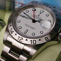 Rolex Explorer II REF 16570 WD+Neuzustand+ B&P