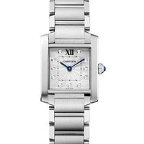 Cartier WE110007 Tank Francaise - Medium in Steel - on Steel...