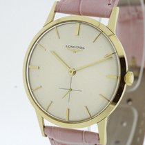 Longines Vintage solid 18K Gold Watch Cal. 19.4 from 1964 (2218)