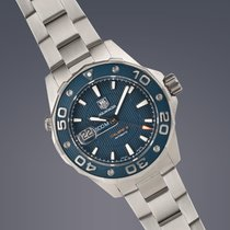 TAG Heuer Aquaracer 500m stainless steel automatic watch FULL SET