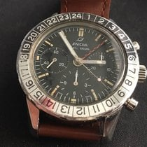 Enicar Jet Graph Chronograph GMT 40mm, Valjoux 72