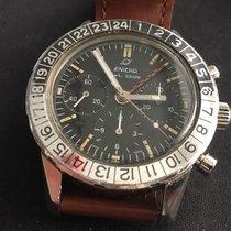 Enicar Jet Graph Chronograph GMT 40mm, Valjoux 72