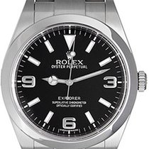 Rolex Explorer Men's Stainless Steel 39mm Watch 214270
