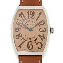 Franck Muller Cintree Curvex Stainless Steel Brown Automatic...