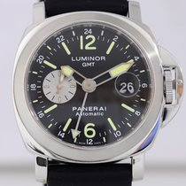 Panerai Luminor GMT PAM88 Automatic 44mm Kautschukband...