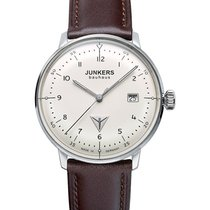 Junkers Bauhaus 6046-5 Quartz Watch Swiss Ronda Movement 30m...