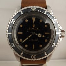 Rolex Submariner ref. 5513 anno 1965 Glossy Gilt Dial Meter First