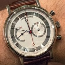 Breguet Classique 5287 Chronograph Grey Dial Brown Strap...