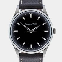 IWC 1960 IWC Schaffhausen Cal.89 Glossy Black  Dial