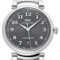 IWC Da Vinci Slate Colored Dial Steel Bracelet Swiss Automatic...