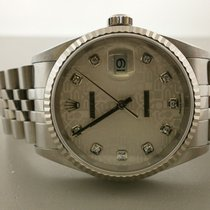 "Rolex Datejust 16234 ""y"" Series S/s 36mm With W/g..."