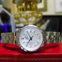 TAG Heuer Carrera Mother Of Pearl Dial Wv1415 Stainless Steel...