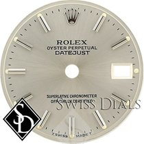 Rolex Datejust Silver Stick Marker T Swiss Made T Dial Two-Tone