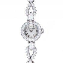 Longines Vintage 950 Platin Diamond 3,7ct Handaufzug 15mm...