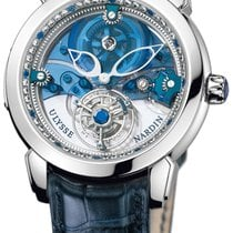 Ulysse Nardin Royal Blue Mystery Tourbillon 41mm 799-80