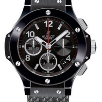 Hublot Big Bang 41 mm Ceramic Black Magic Ceramic Rubber Men`s...