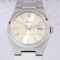 ロレックス (Rolex) Datejust Oysterquartz silver dial steel rar...