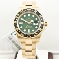 Rolex GMT-MASTER II Model 116718 Green Dial
