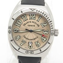 Franck Muller Transamerica Automatic Stainless Steel Watch Ref...