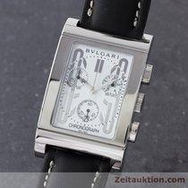 宝格丽 (Bulgari) Rettangolo Chronograph Stahl Herrenuhr Rtc49s