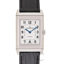 Jaeger-LeCoultre Reverso Classic Medium Silver Steel/Leather...