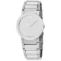 "Movado Men's 606093 """"sapphire"""" Stainless..."