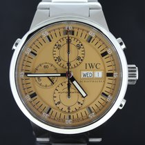 IWC Rattrapante Chronograph GST Steel, Salmon Dial,Full Set 43MM
