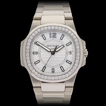 Patek Philippe Nautilus 18k White Gold Ladies 7010/1G-001