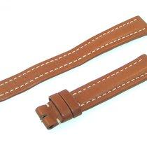 Breitling Band 15mm Brown Marron Calf Strap Ib15-09